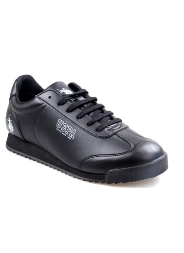 U.S. Polo Assn. Deep Siyah Günlük Erkek Spor Ayakkabı Siyah